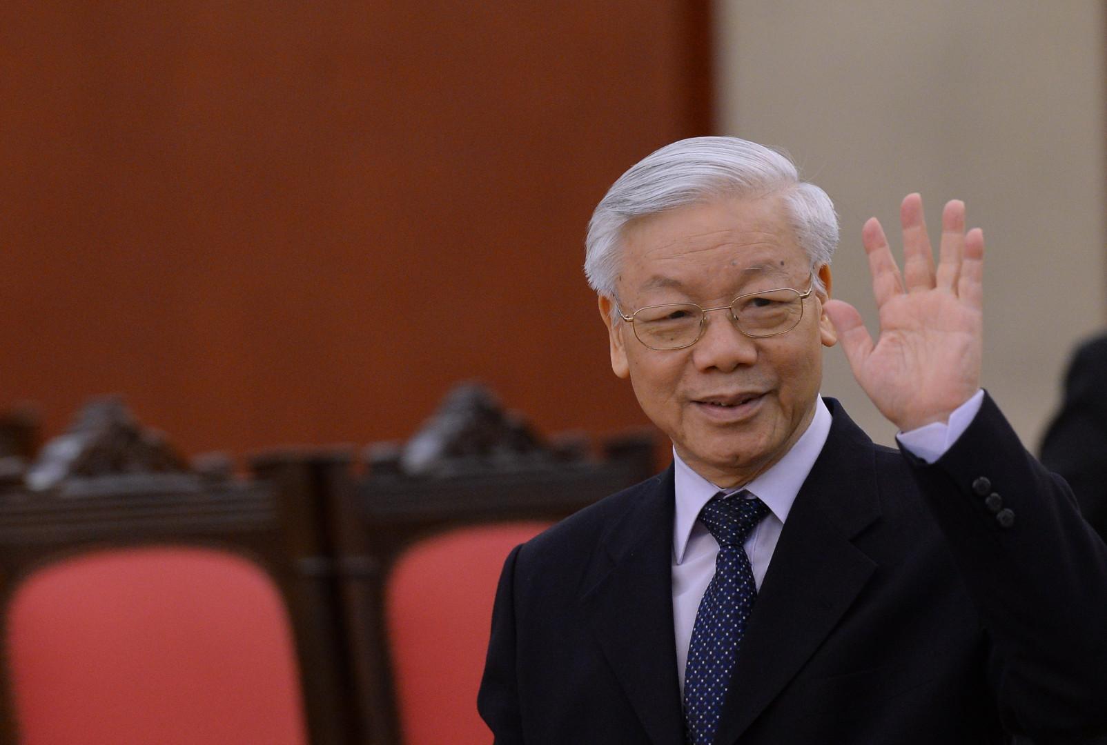 Nguyen Phu Trong secrétaire général du Parti communiste vietnamien