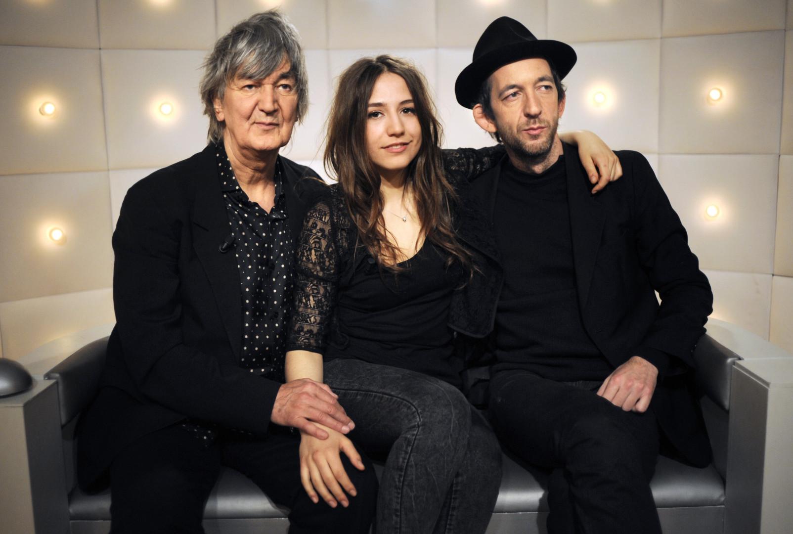 Dans la famille Higelin, voici le père Jacques, la fille Izia et le fils Arthur