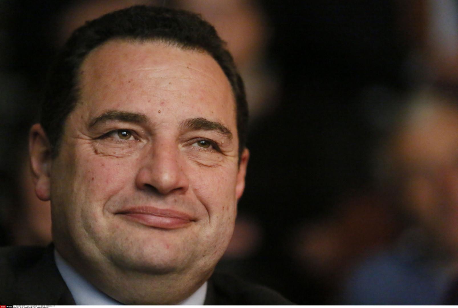 Jean-Frédéric Poisson, 53 ans, président du parti Chrétien-Démocrate