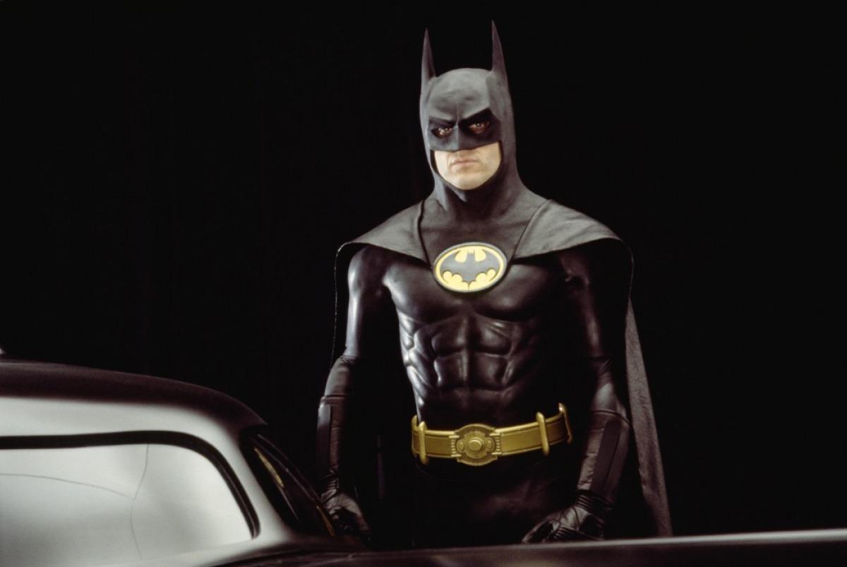 """""""Batman"""" (1989) version Michael Keaton, plutôt sobre et classe"""