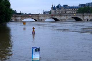 La Seine à Paris le 3 juin 2016