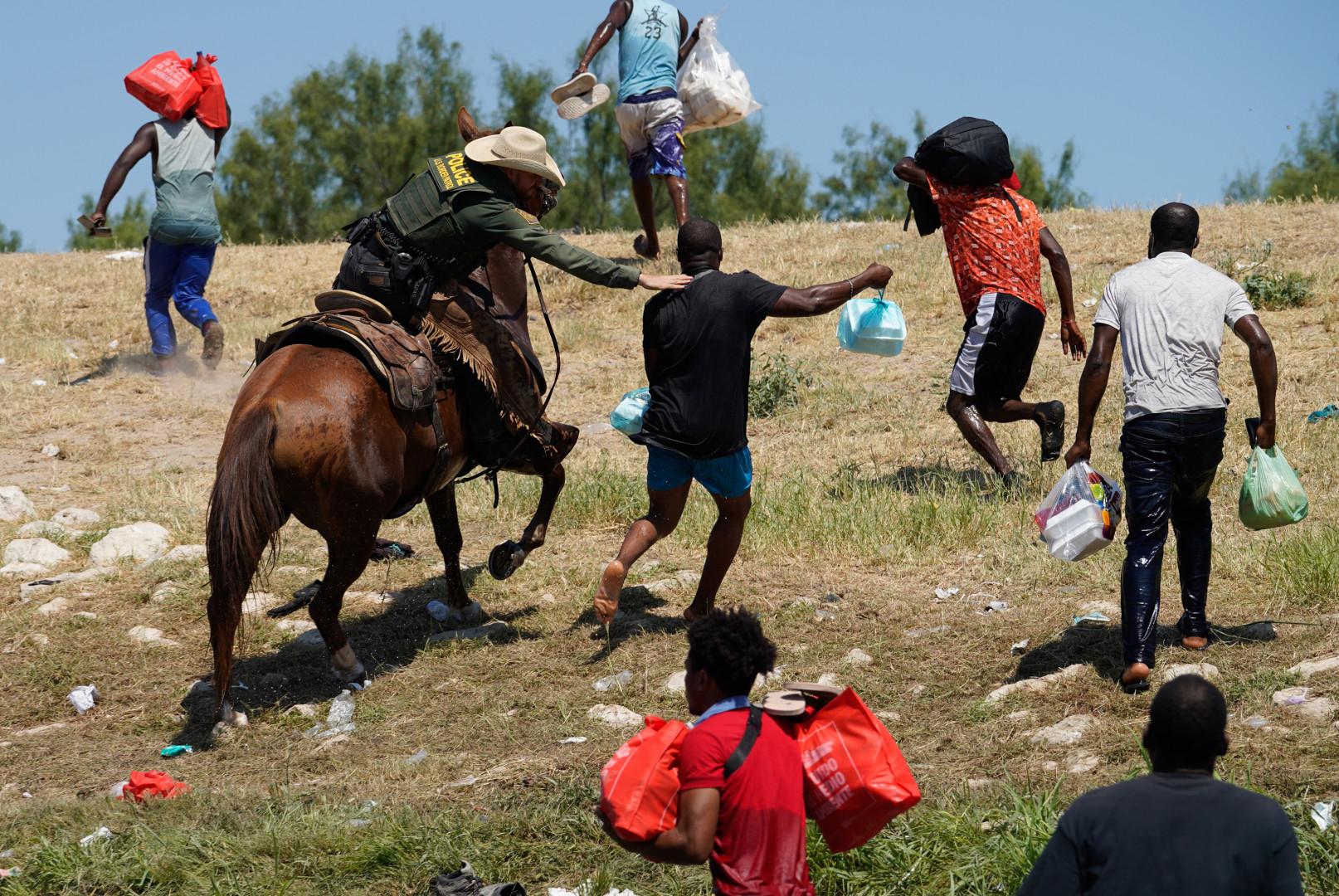 Une véritable chasse au migrant a eu lieu dimanche au Texas par des gardes-frontières
