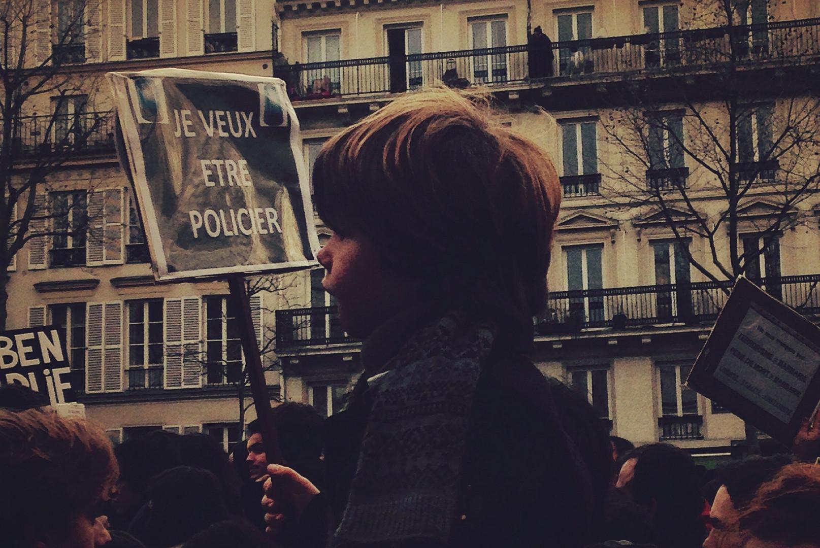 """""""Je veux être policier"""" à Paris"""