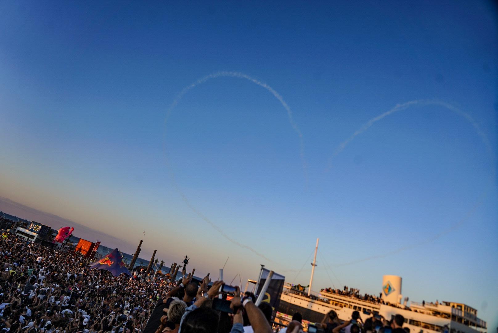 Coeur dans le ciel : hasard ou grand art ?