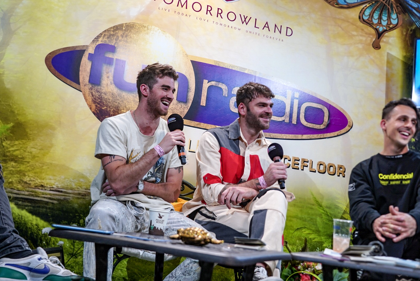 The Chainsmokers en interview