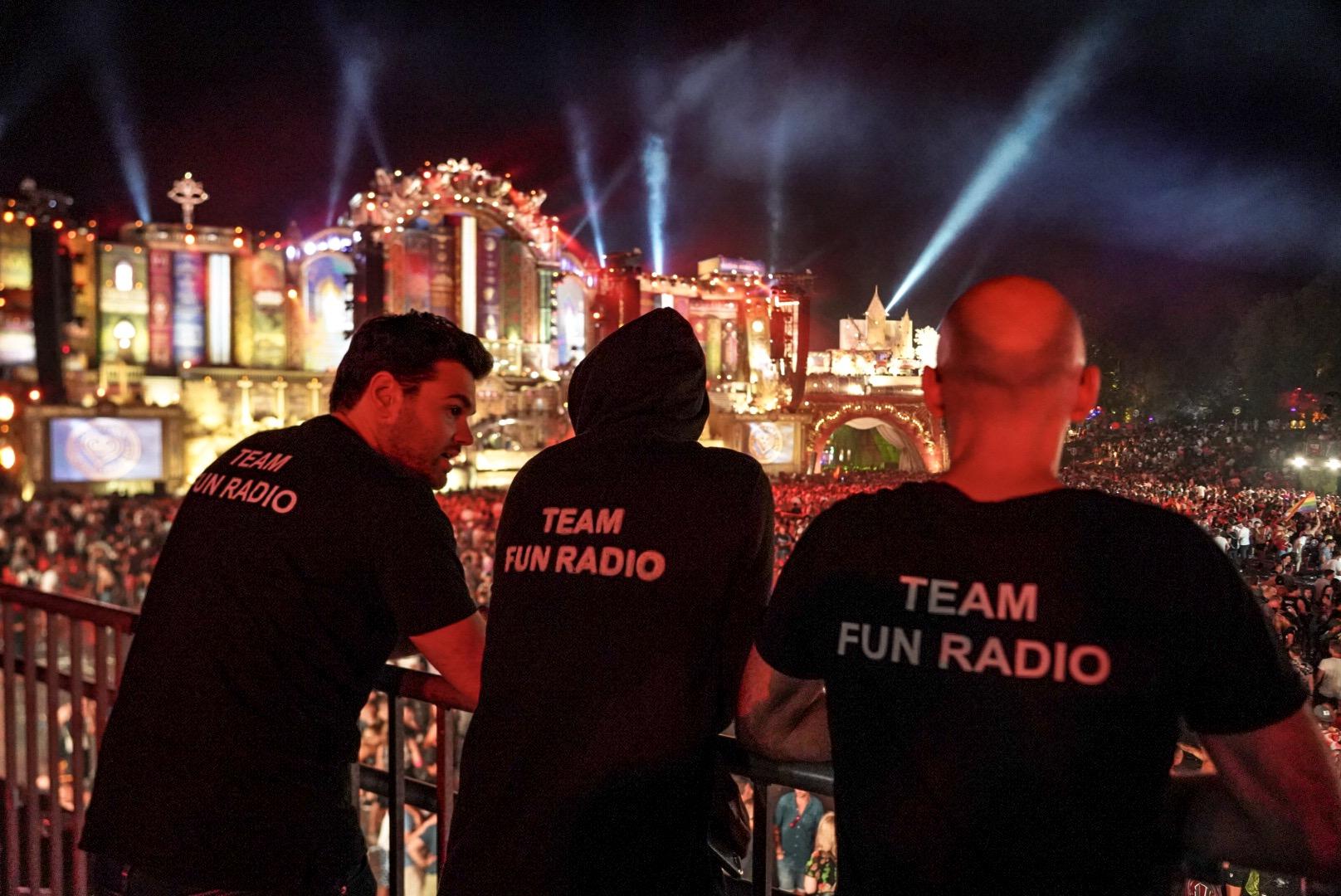 La Team Fun Radio sur la Mainstage de Tomorrowland