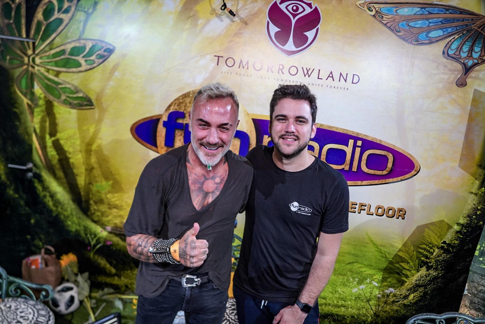 Gianluca Vacchi et Adrien Toma