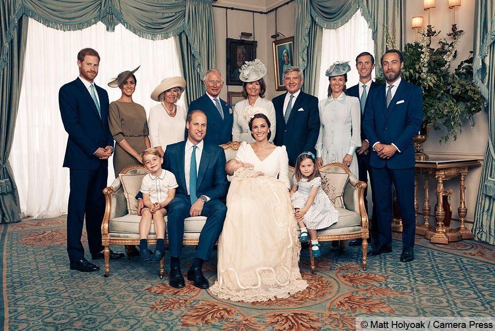 Les deux familles du prince Louis : les Windsor et les Middleton