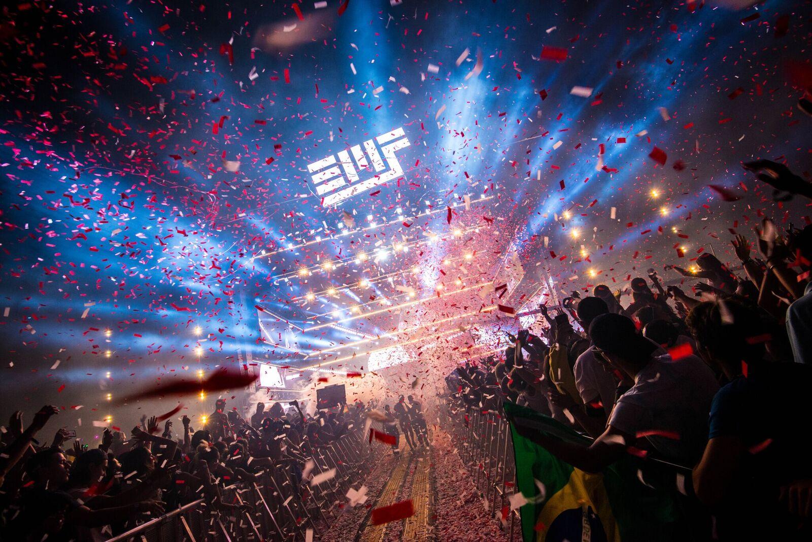 David Guetta Stage