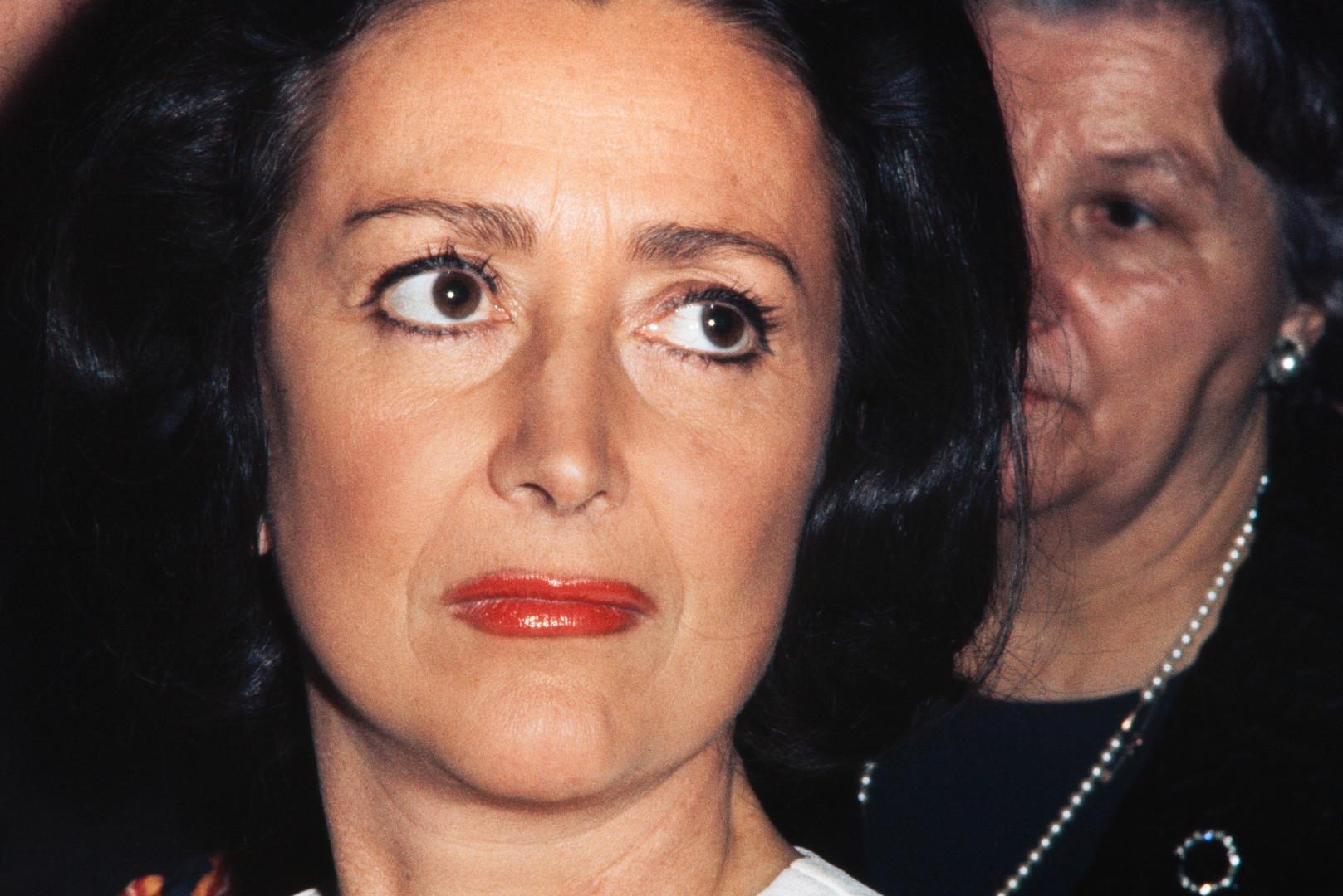 Ménie Grégoire, en 1972, voix iconique de RTL, est morte le 16 août