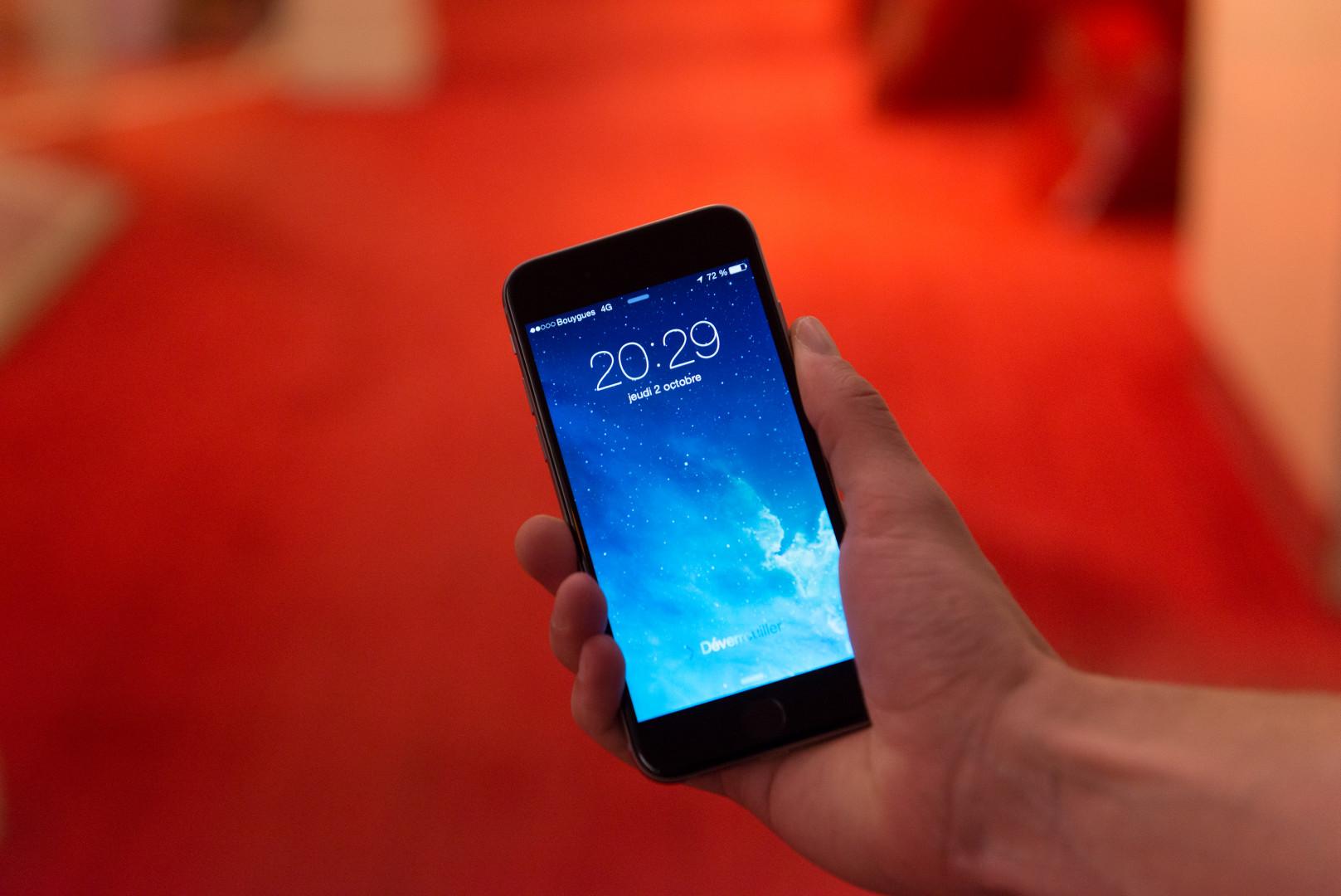 1 - L'iPhone 6, à partir de 709 euros