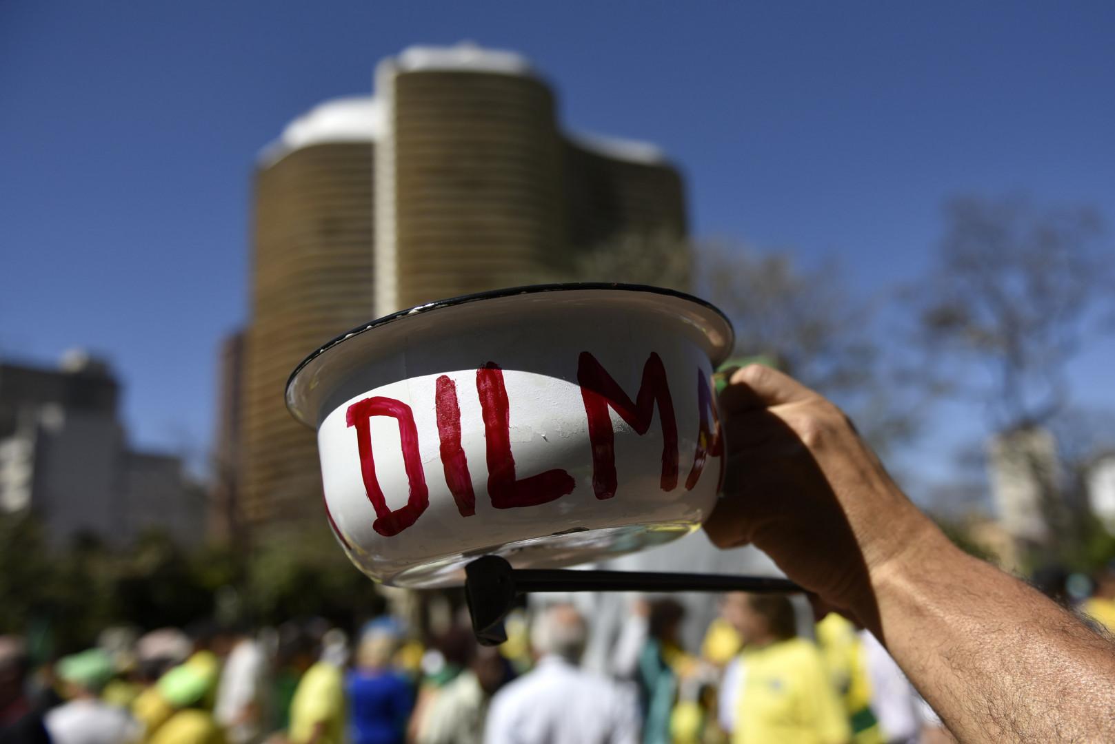En avril dernier, 600.000 Brésiliens avaient manifesté