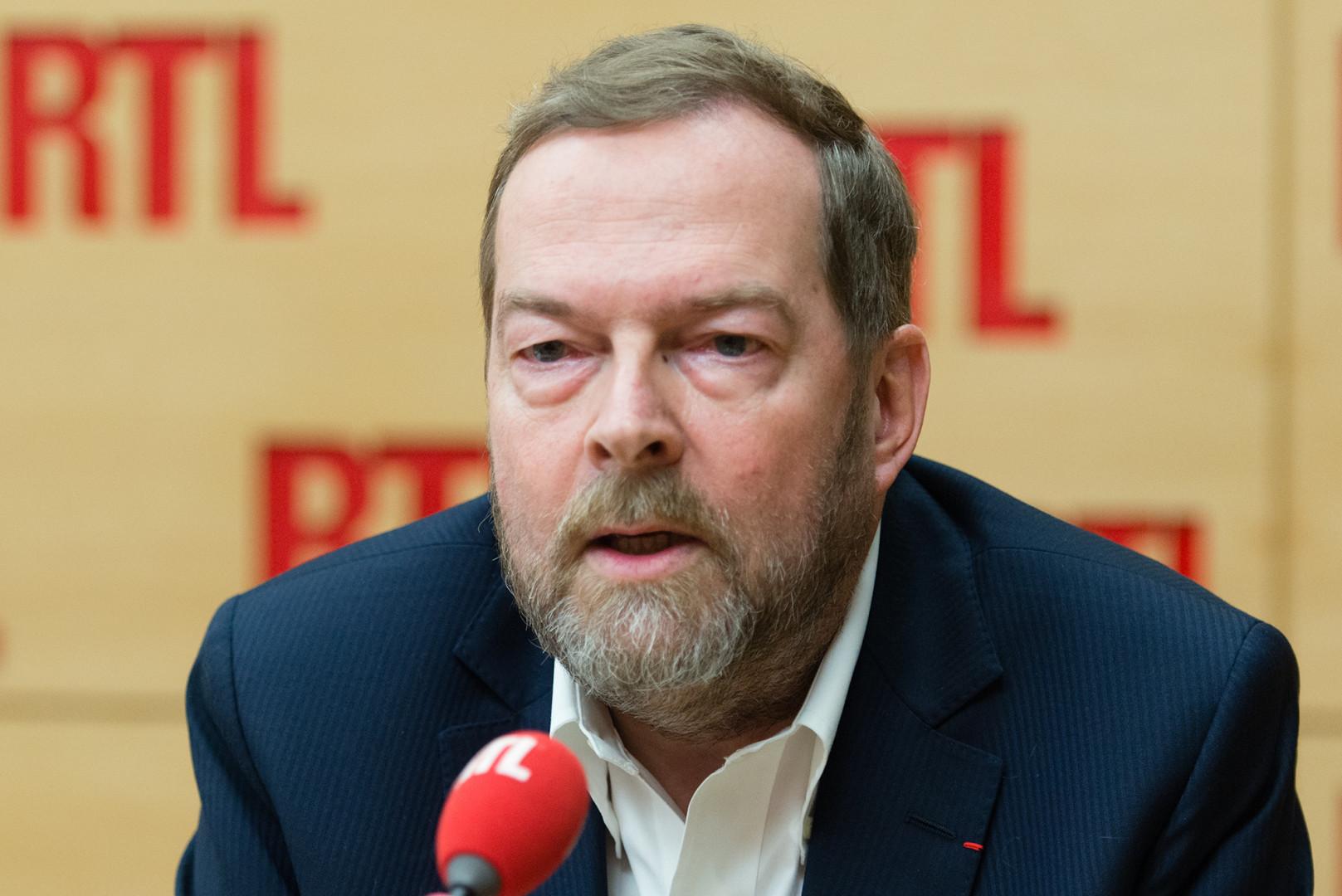 Jérôme Grand D'Esnon, invité de RTL le 1er février 2017