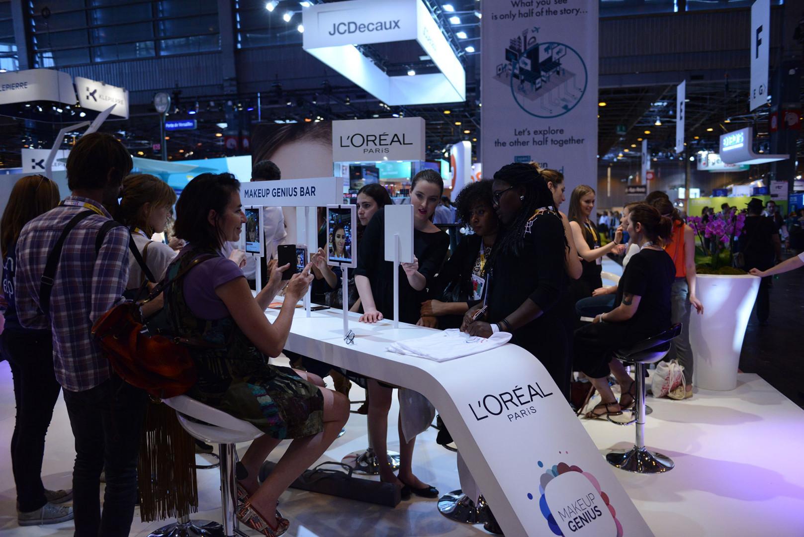 L'application Make Up Genius de L'Oréal