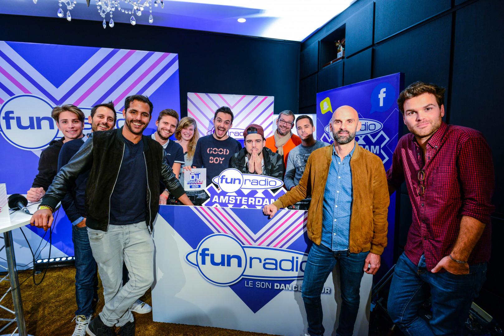 L'équipe Fun Radio