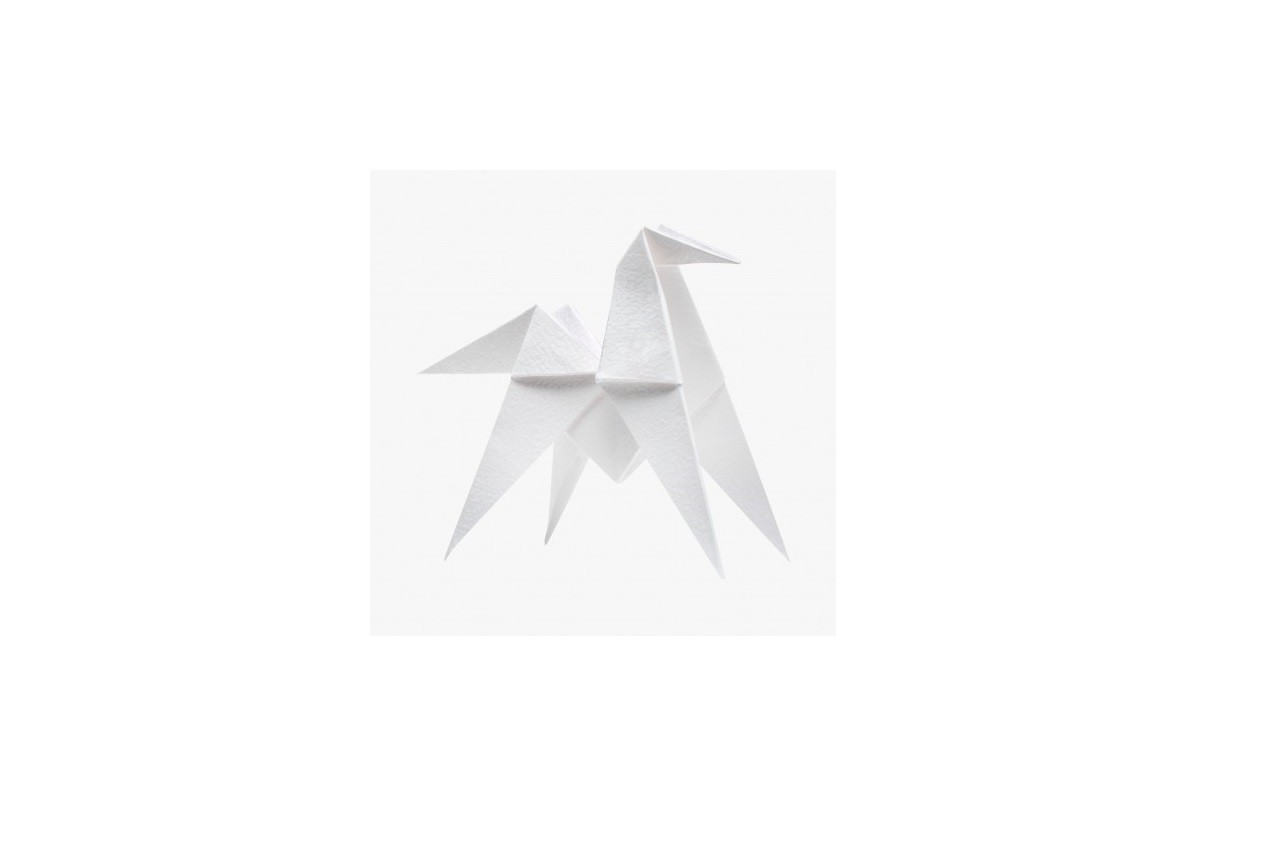 Cheval-origami parfumé, Hermès, Le Bon Marché