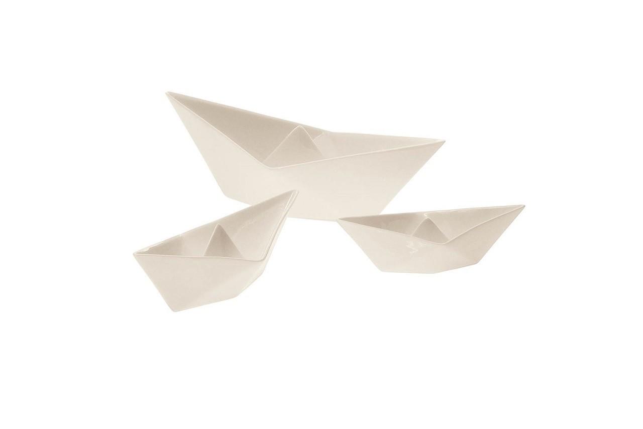 Vide-poches bateau en porcelaine, Seletti, Decoclico
