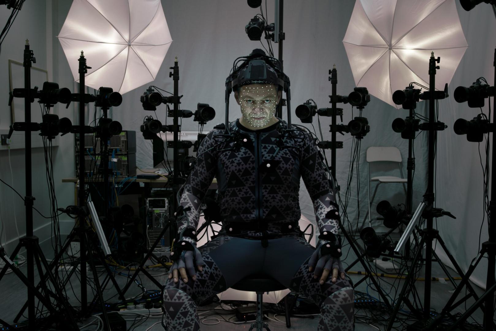 """Andy Serkis joue le leader suprême Snoke dans """"Star Wars"""""""
