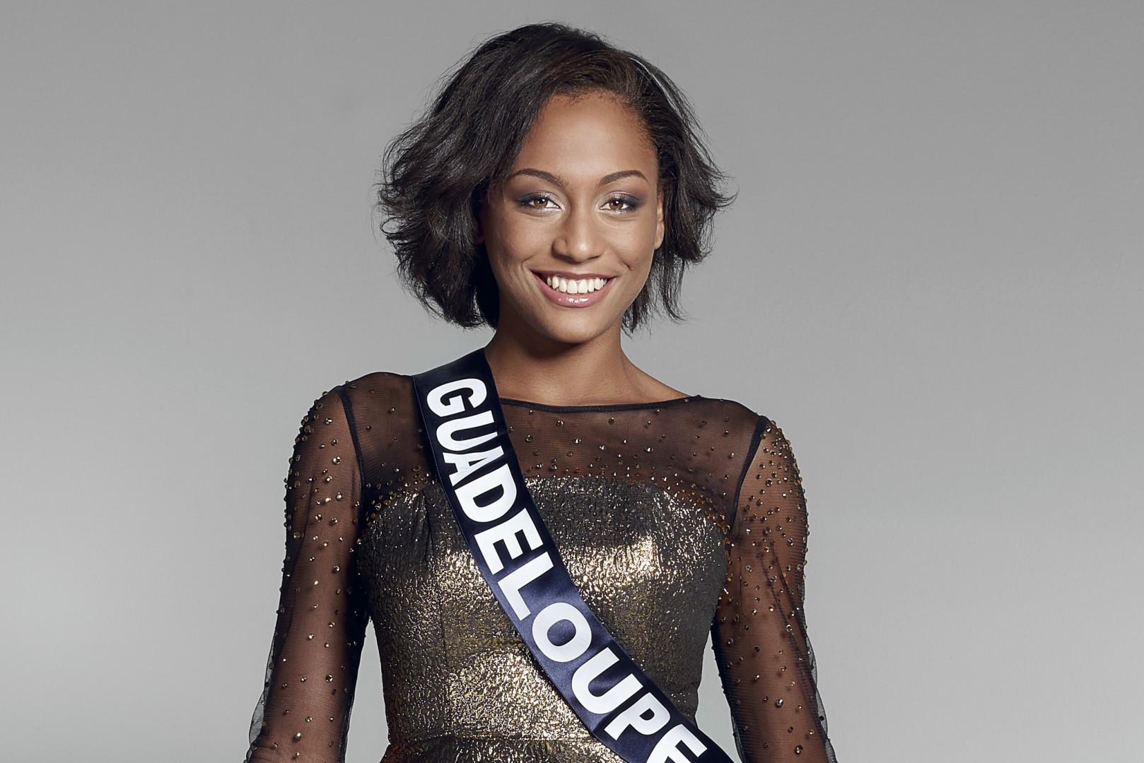 Morgane Thérésine, jolie Miss Guadeloupe