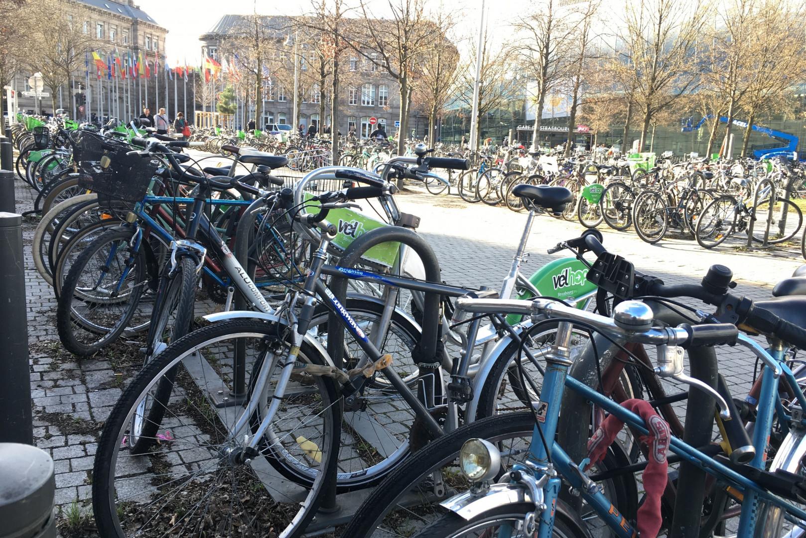 De nombreux salariés se déplacent à vélo ou en covoiturage pour se rendre sur leur lieu de travail