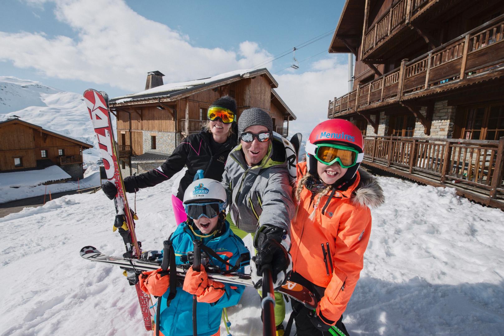 Passez vos vacances d'hiver aux Ménuires avec RTL2