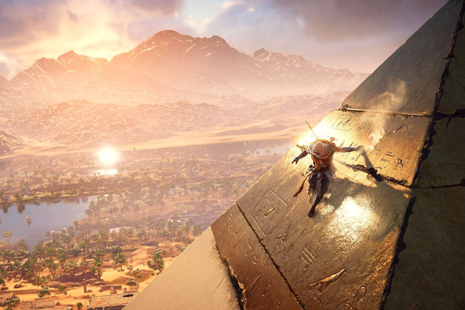 """""""Assassin's Creed Origins"""" vous fera arpenter l'Égypte ancienne comme jamais elle n'a été reconstituée (PC, PS4, Xbox One - 55€)"""