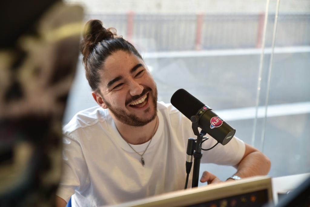 Boostee dans les studios de Fun Radio Belfort