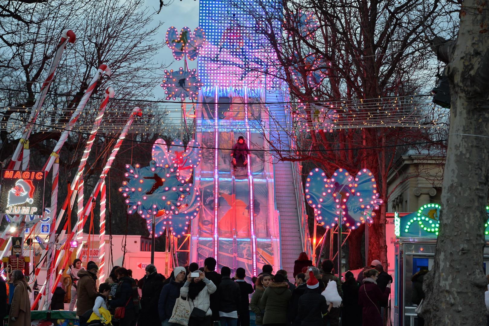 Un marché de Noël à Paris