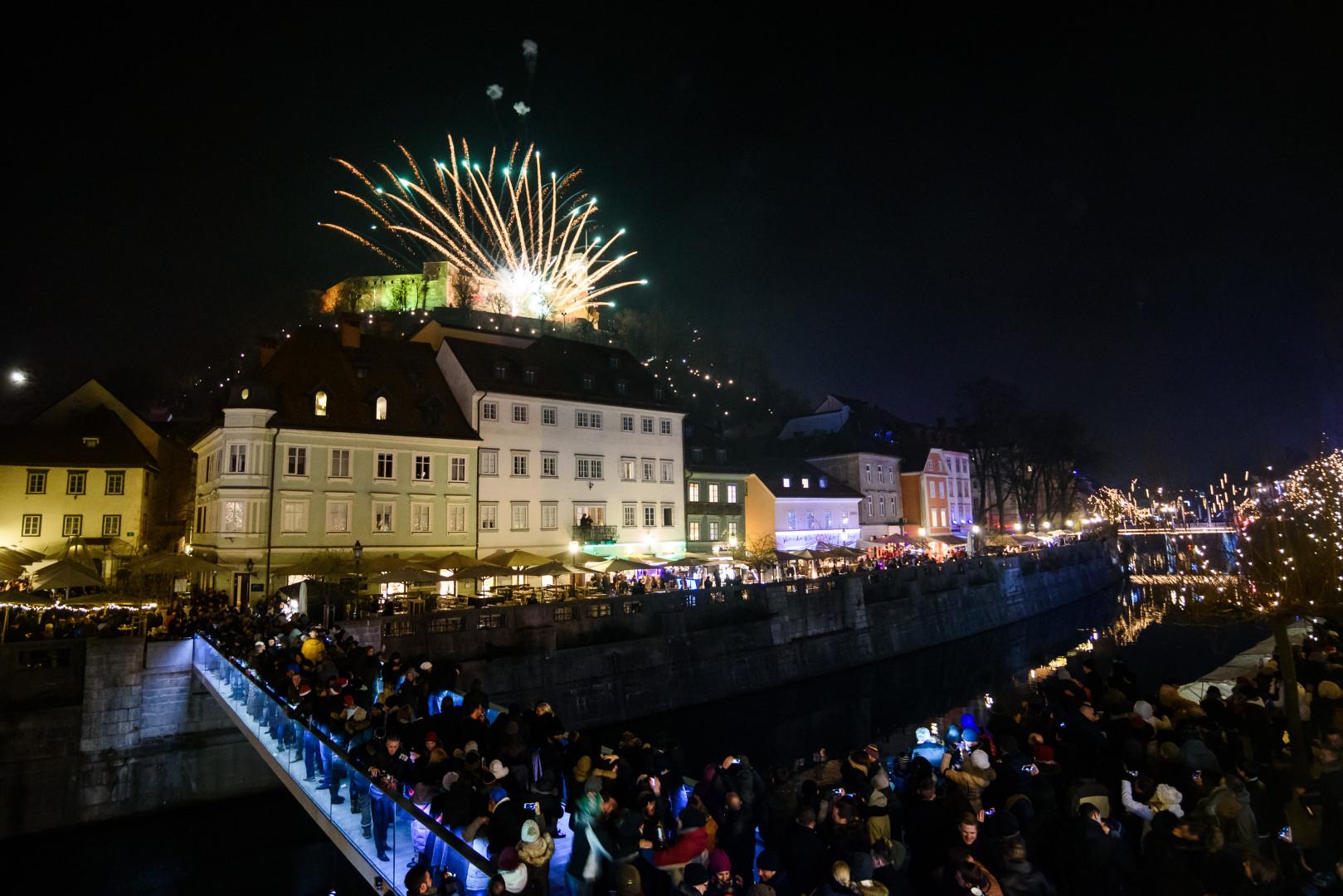 Le château slovène de Ljubljana était au centre du rassemblement