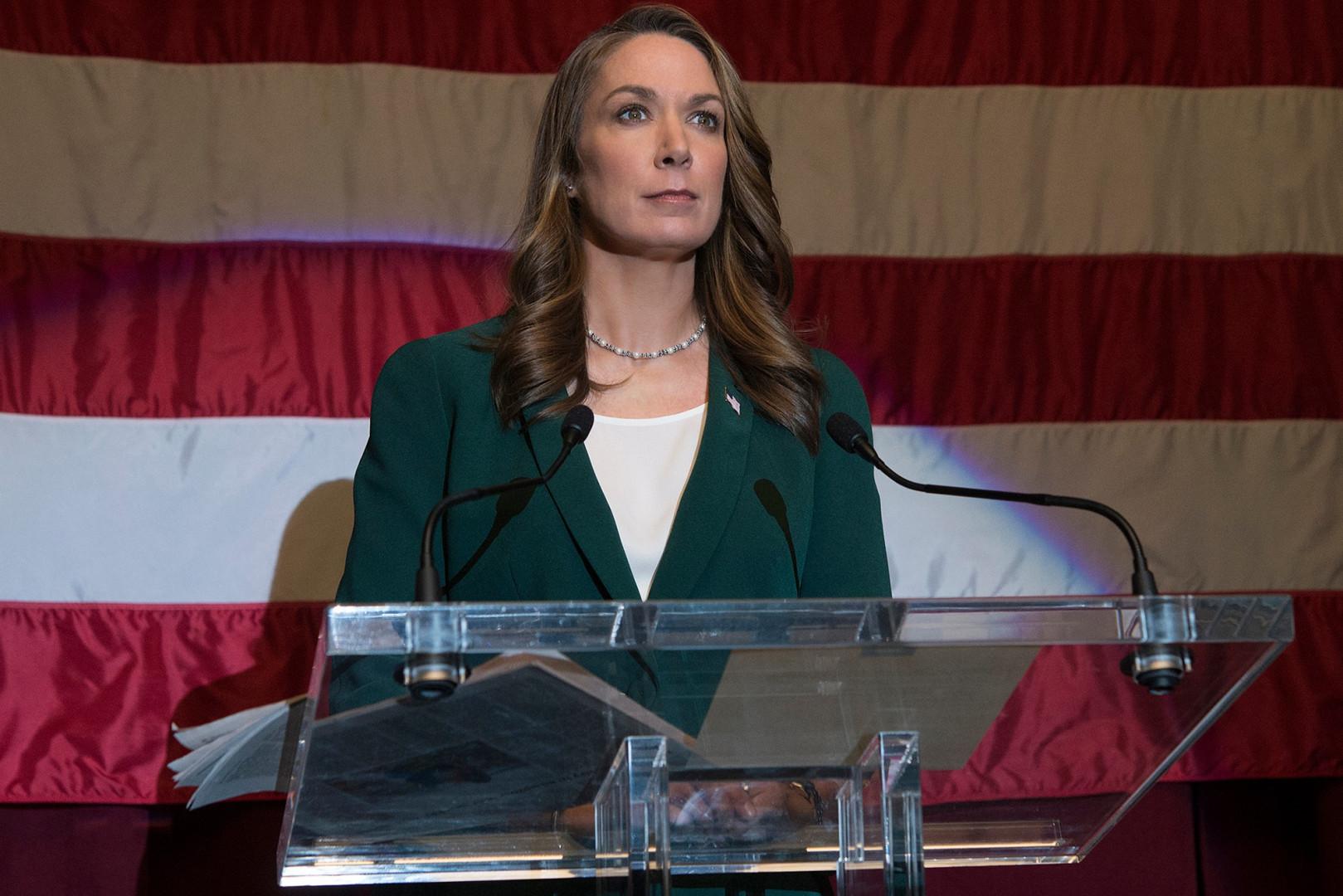 Heather Dunbar, la rivale démocrate de Frank Underwood