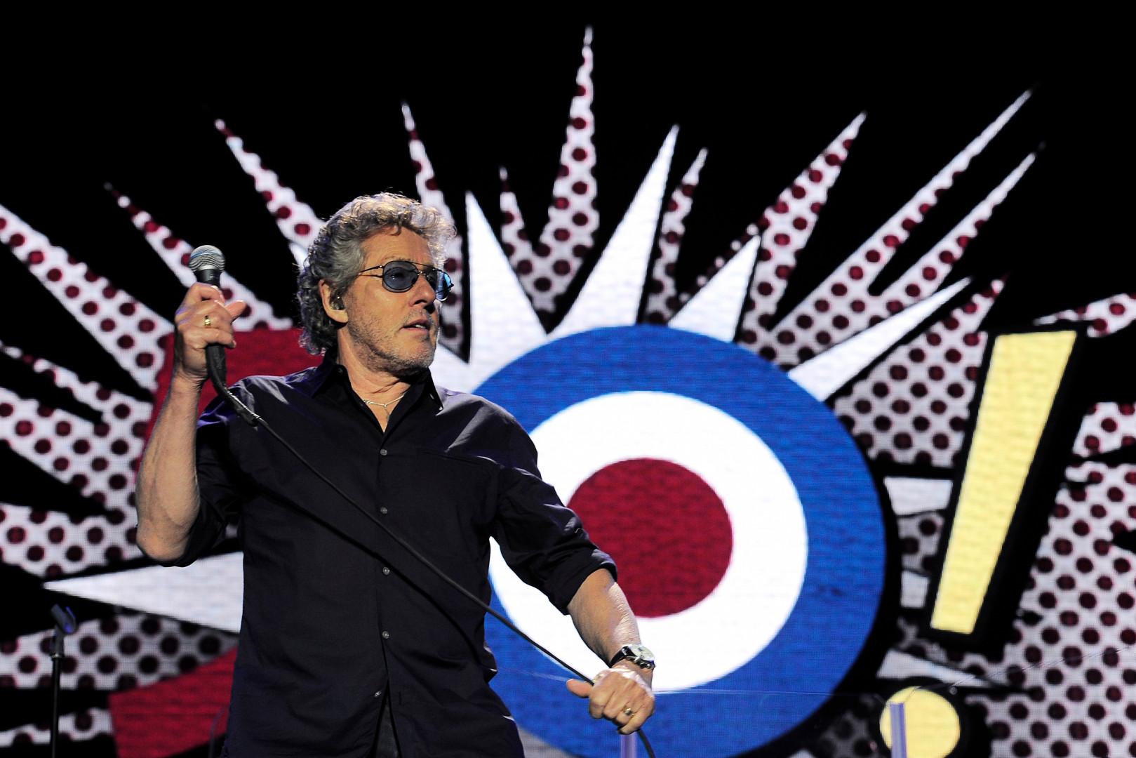 Roger Daltrey, le chanteur du groupe The Who
