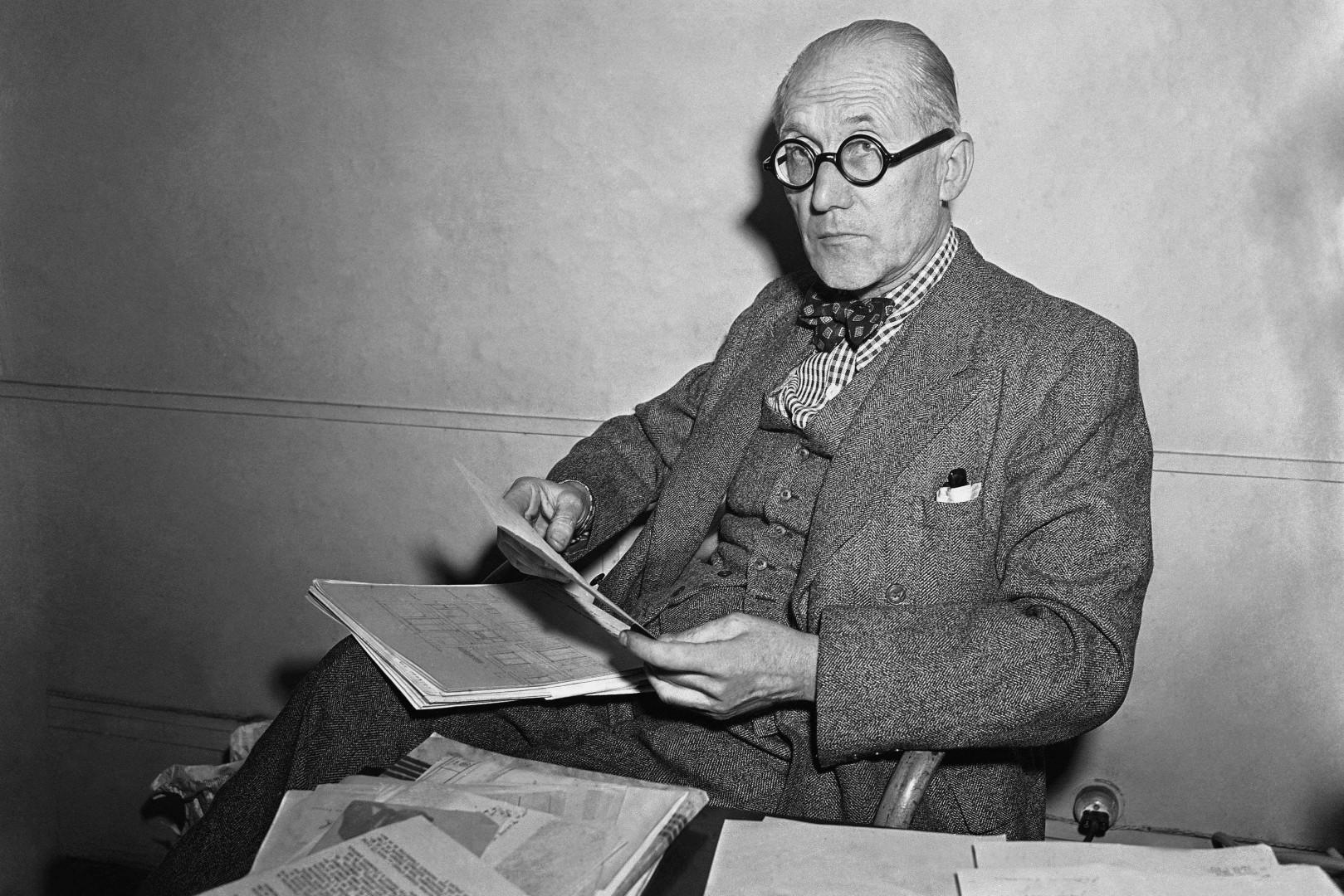 Charles-Édouard Jeanneret (1887-1965), dit Le Corbusier
