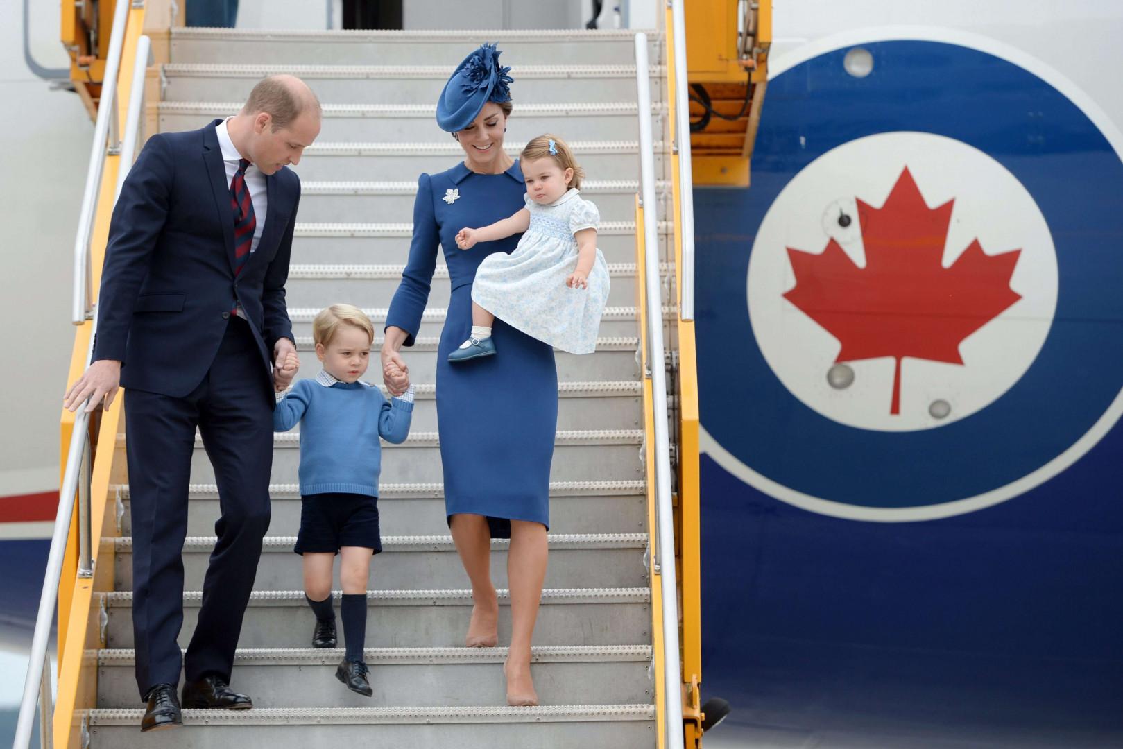 Le voyage de la famille royale au Canada doit durer une semaine.