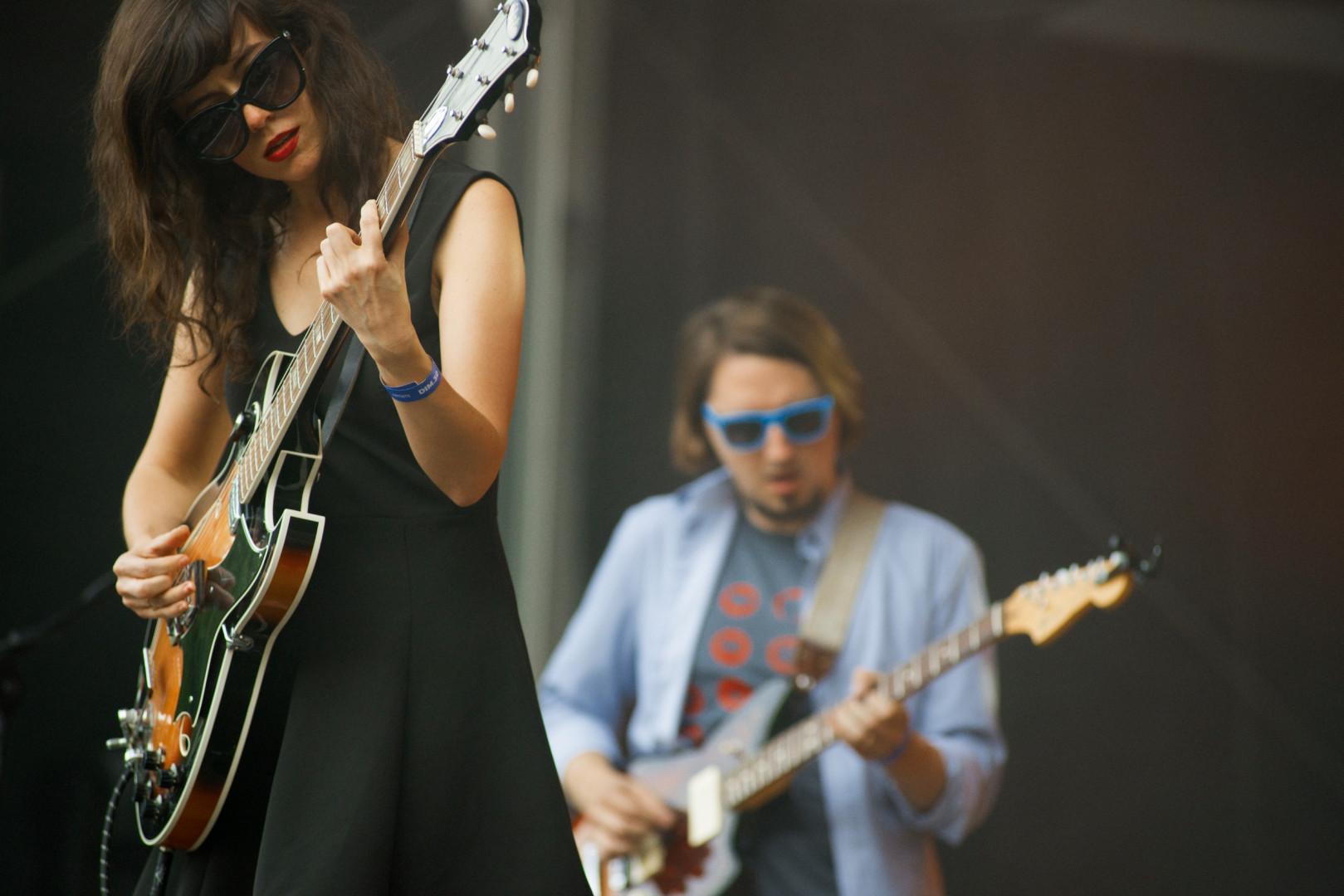 Natalie Prass sur la Scène Pression Live de Rock en Seine, dimanche 30 août