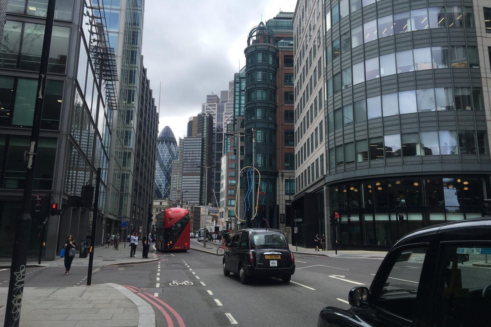 Illustration de la City à Londres