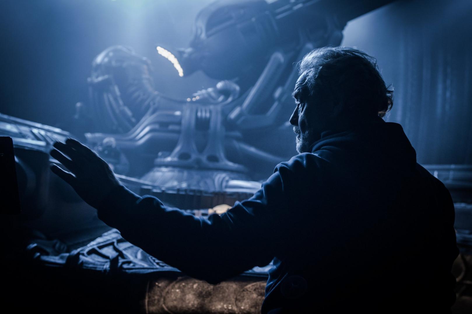 """Ridley Scott sur le tournage d'""""Alien : Covenant"""""""