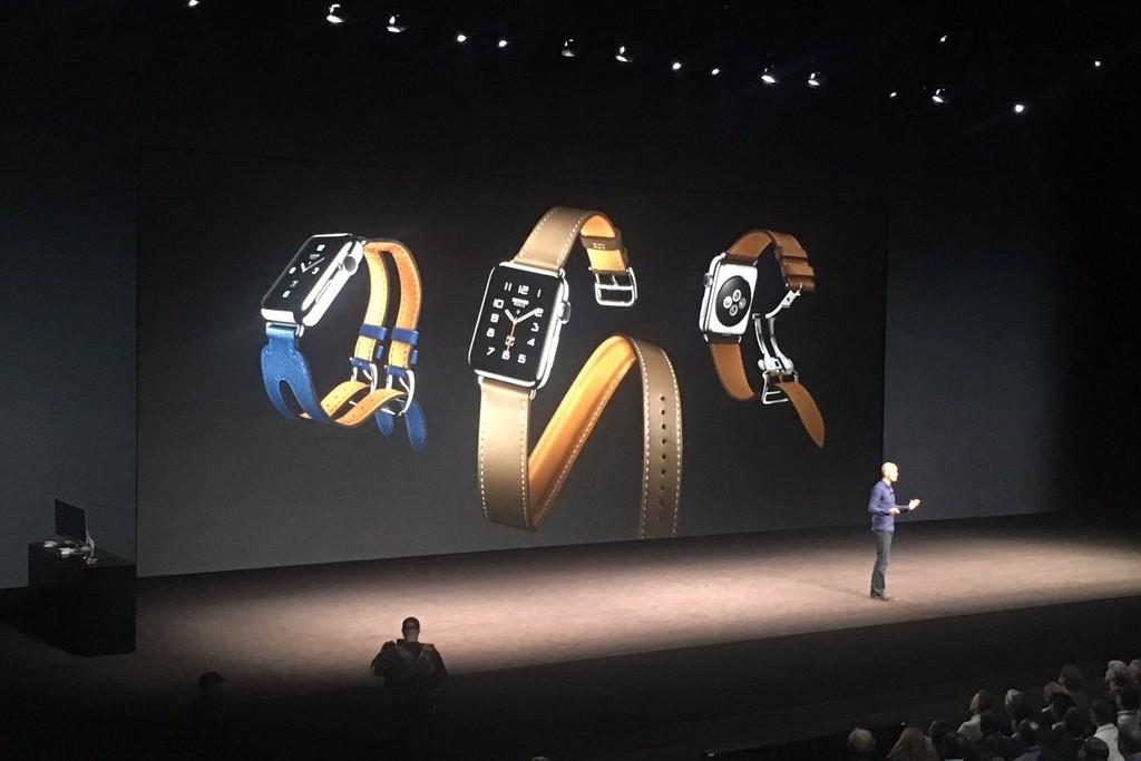 L'Apple Watch présentée lors de la Keynote du mercredi 7 septembre 2016