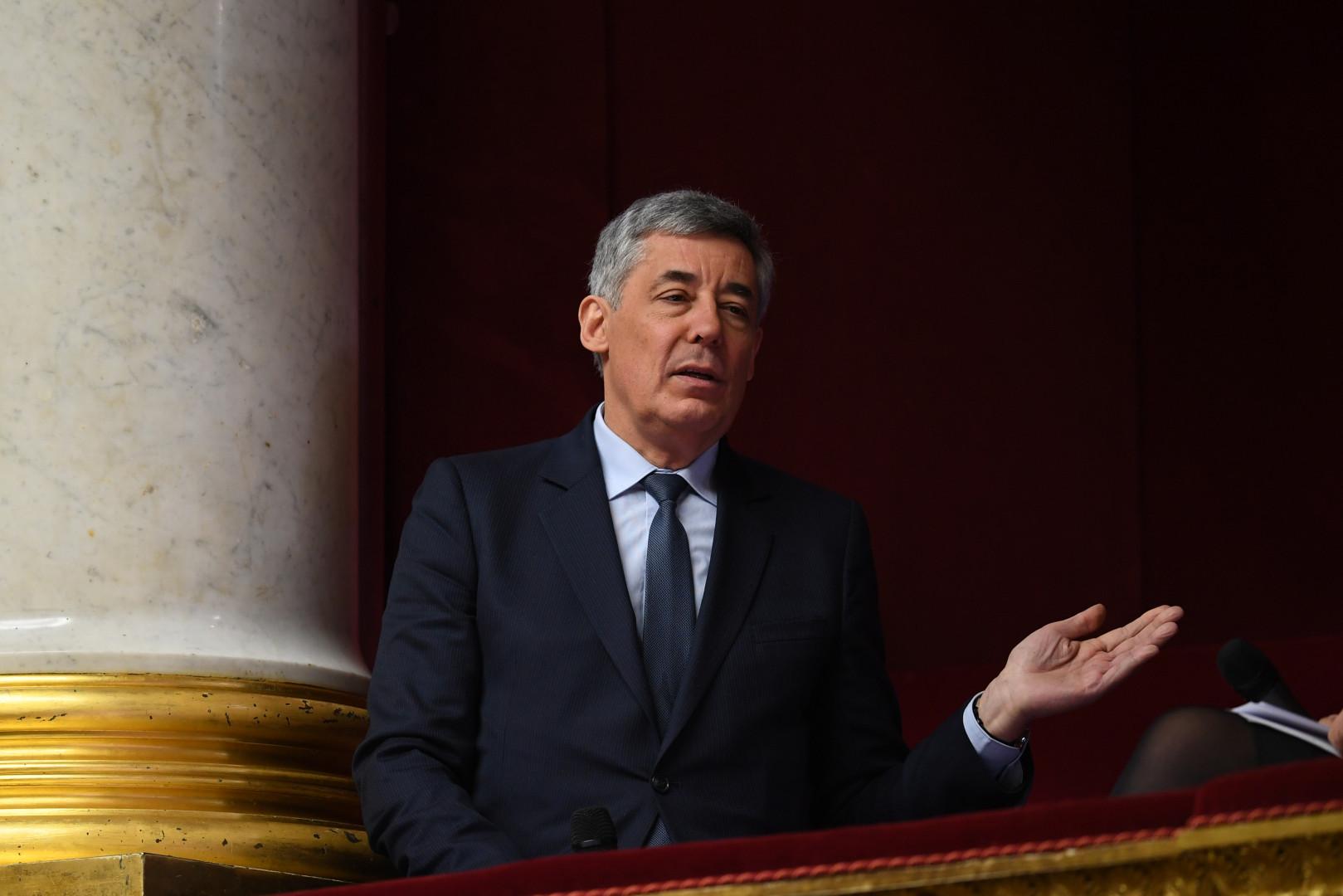 Henri Guaino, à l'Assemblée nationale en janvier 2017