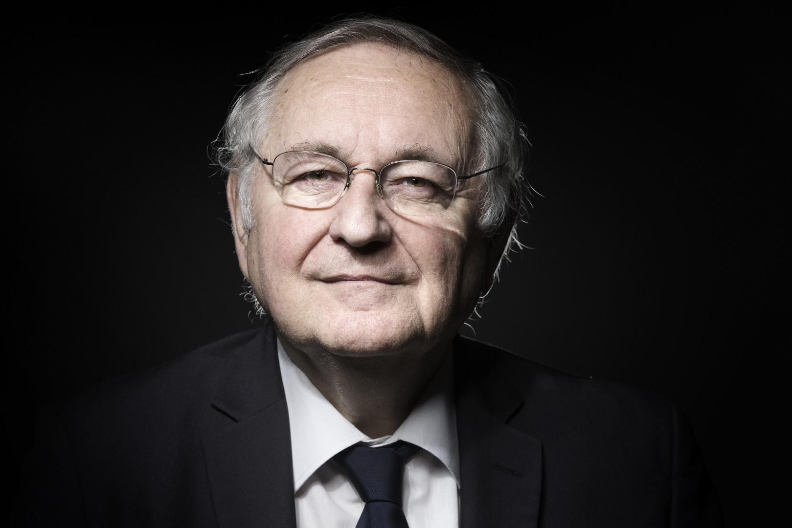 Jacques Cheminade, candidat du parti Solidarité et Progrès à l'élection présidentielle
