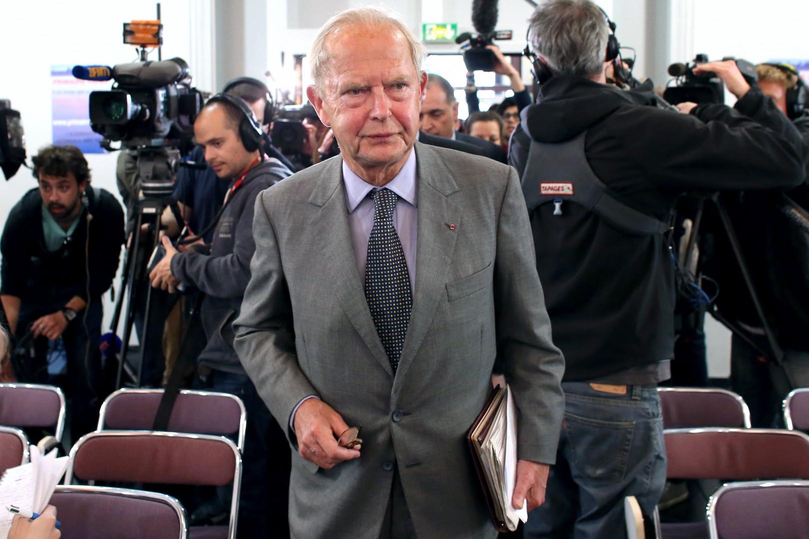 Antoine Rufenacht a été maire du Havre de 1995 à 2010.