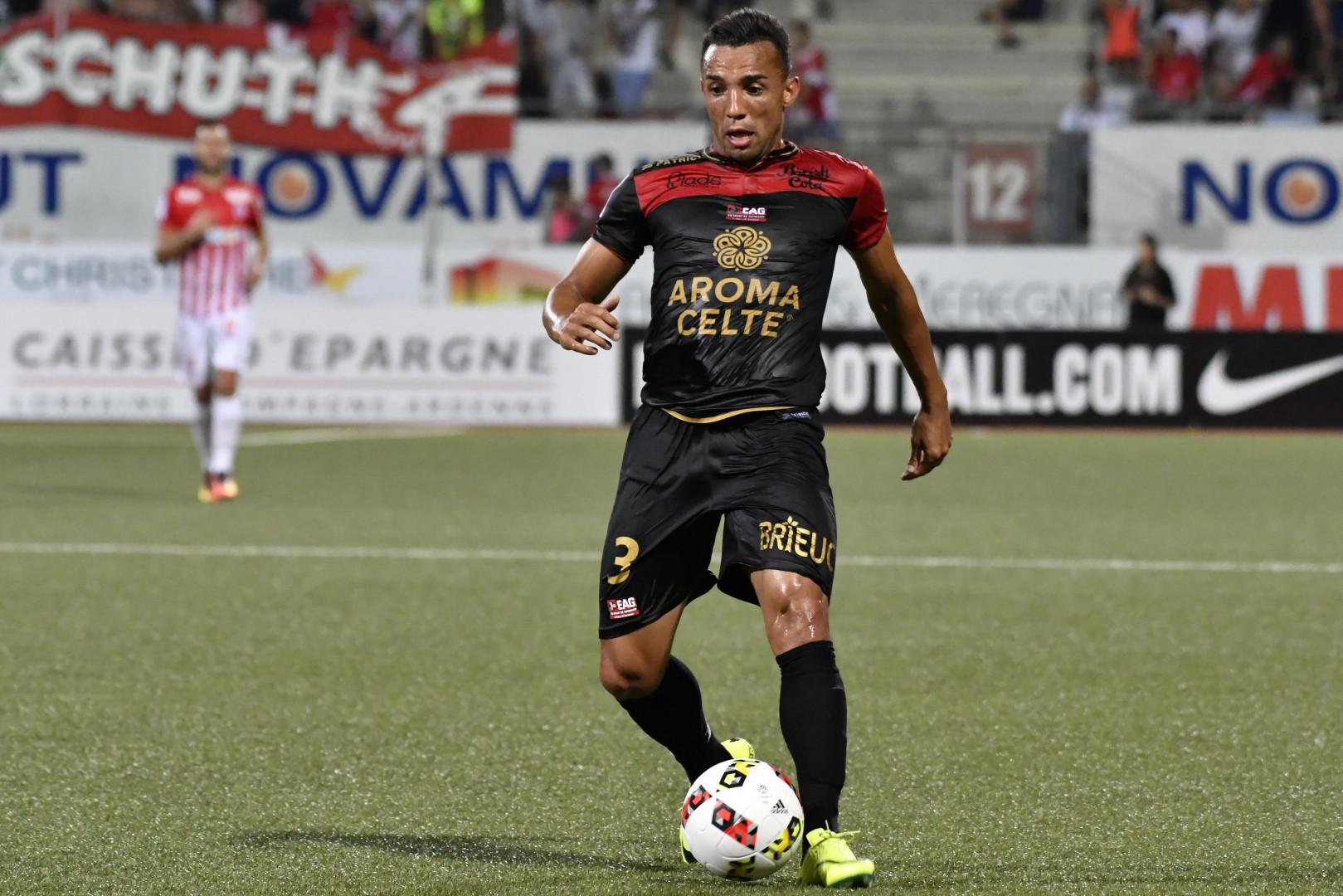Marçal, 28 ans, défenseur latéral de l'En Avant Guingamp