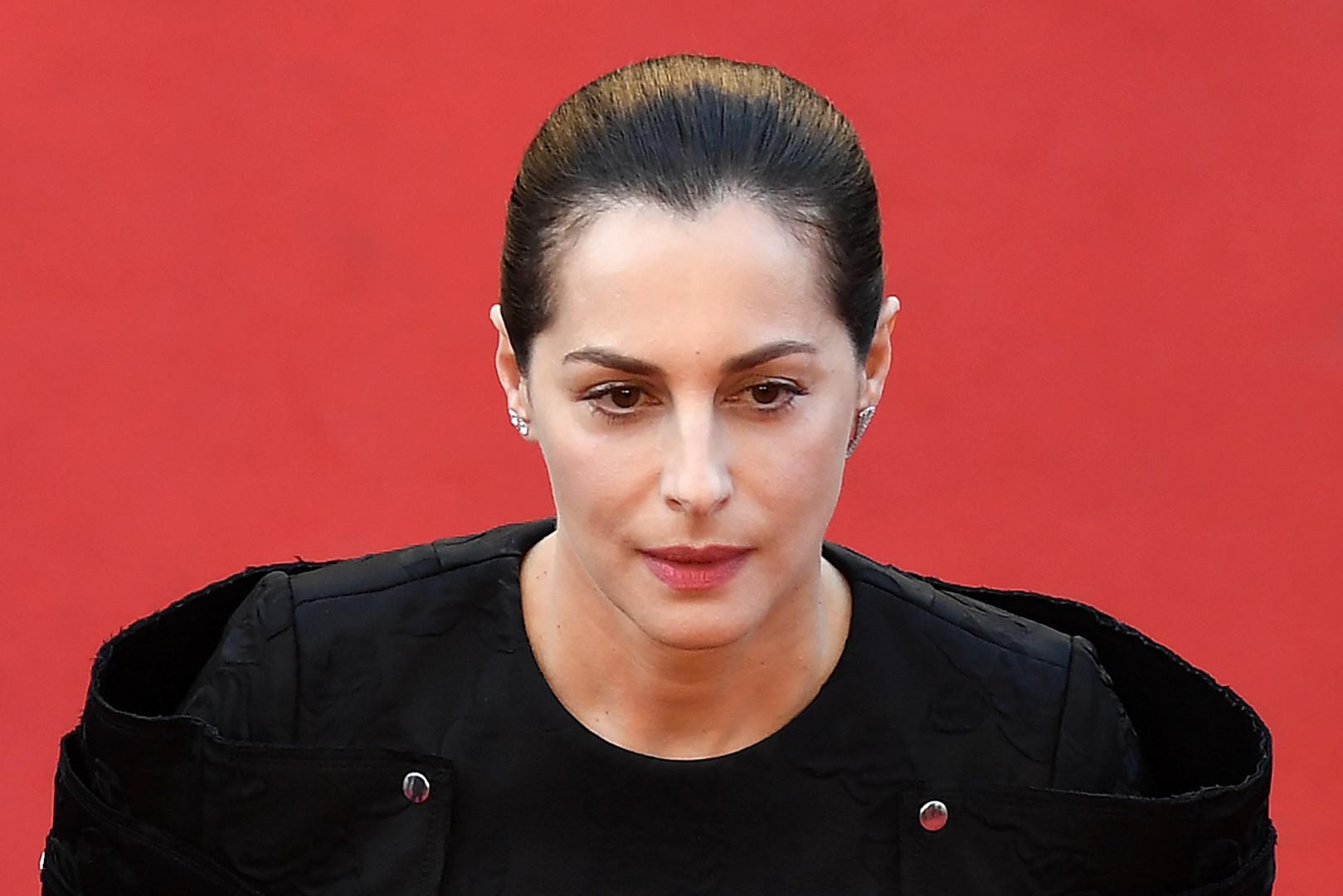 L'actrice française Amira Casar