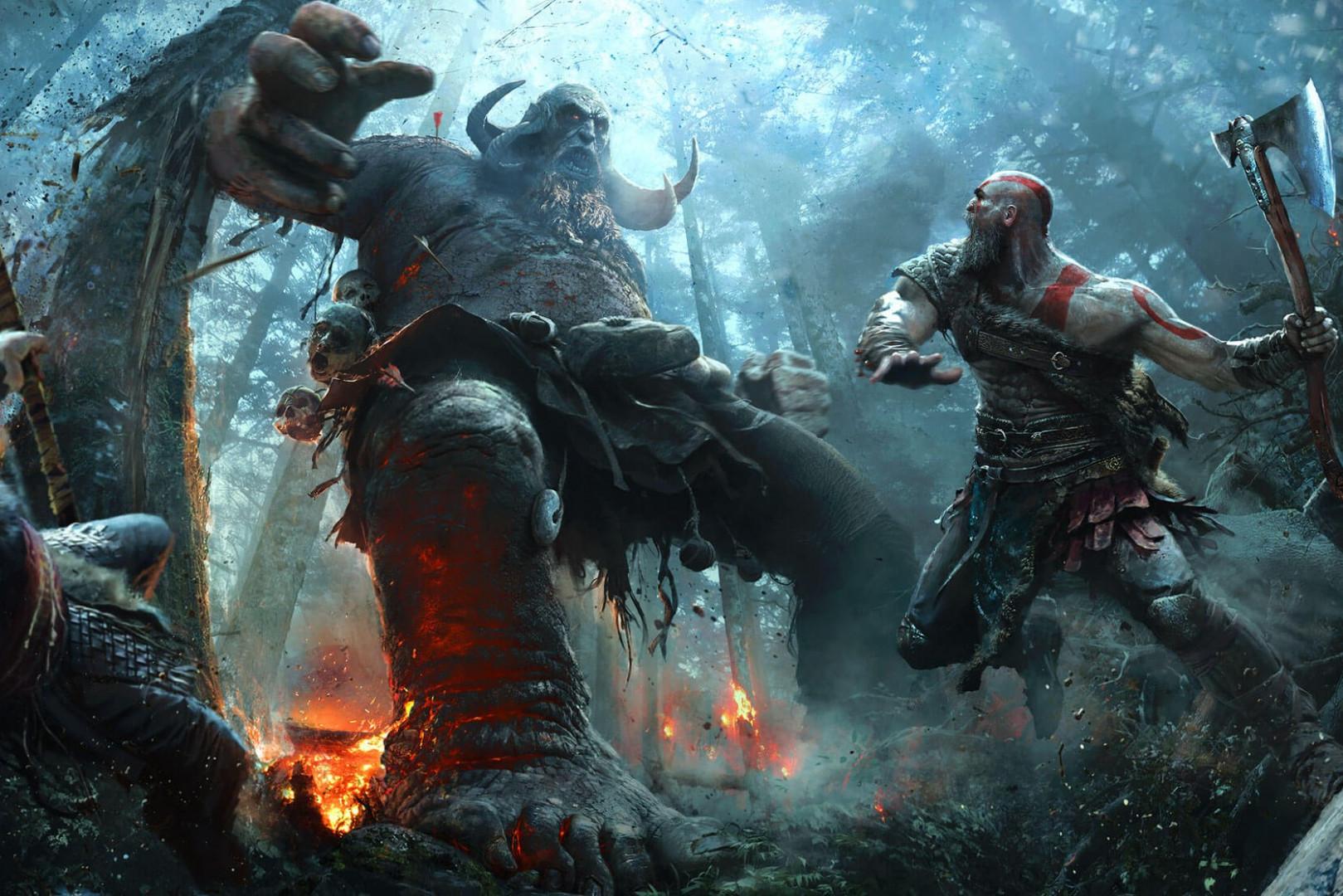 """""""God of Wars 4"""" vous plongera au cœur de la mythologie nordique"""