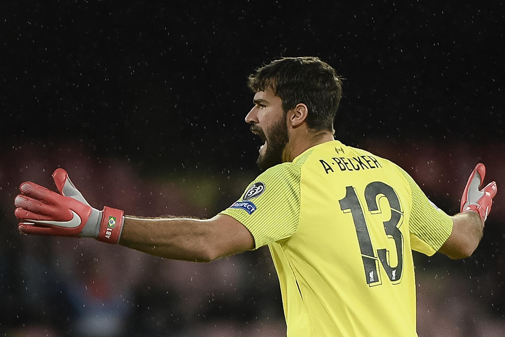 Alisson Becker, le gardien brésilien de Liverpool