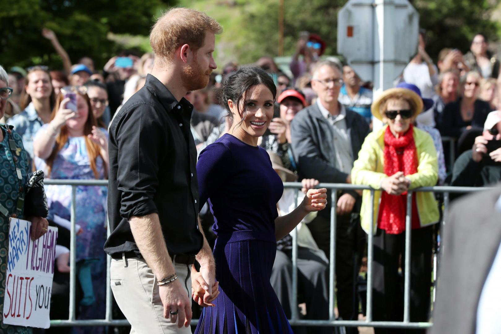 Meghan Markle et le prince Harry attendent leur premier enfant