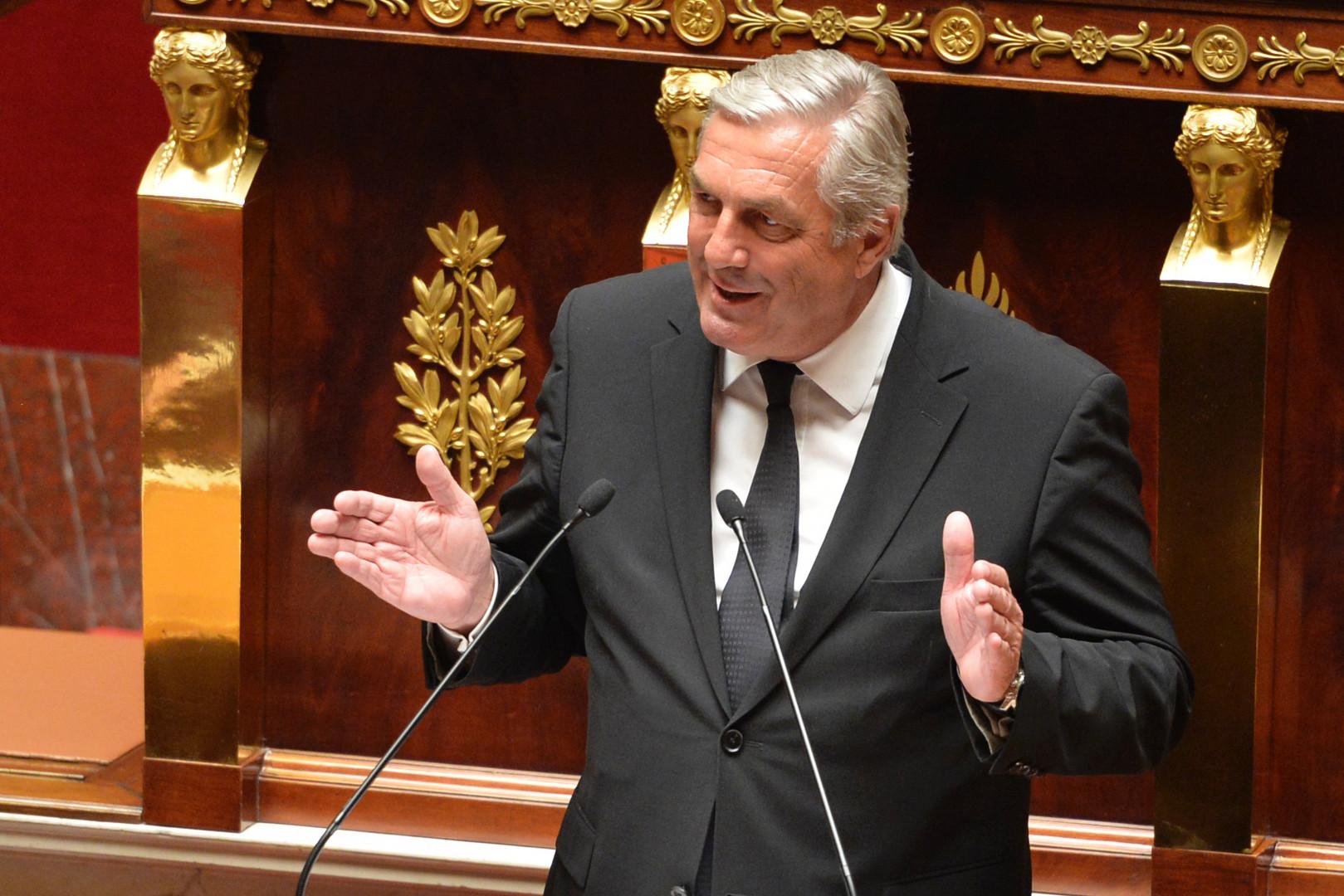 François Sauvadet (UDI), président du Conseil départemental de Côte-d'Or