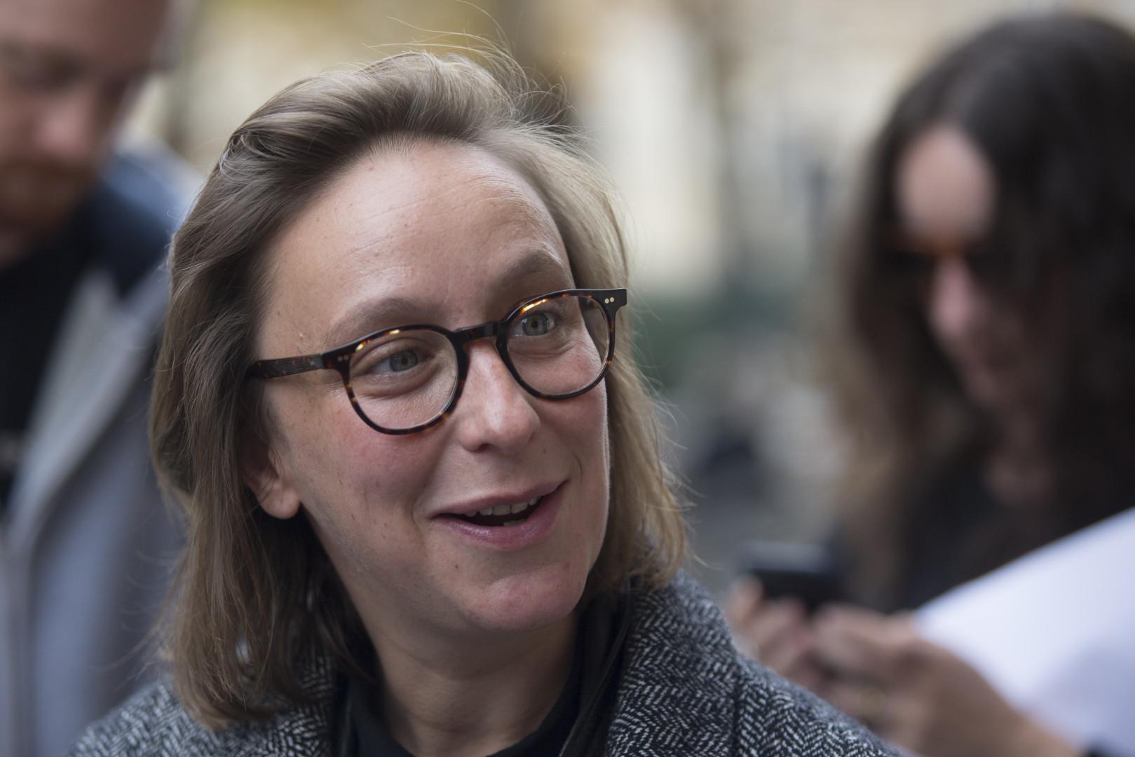 """Céline Sciamma, réalisatrice française de """"Portrait de la jeune fille en feu"""", présenté en Sélection Officielle"""