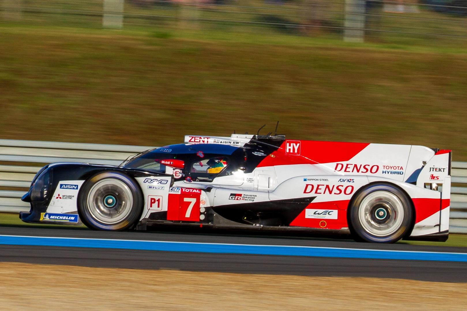 Toyota aux 24 Heures du Mans 2019