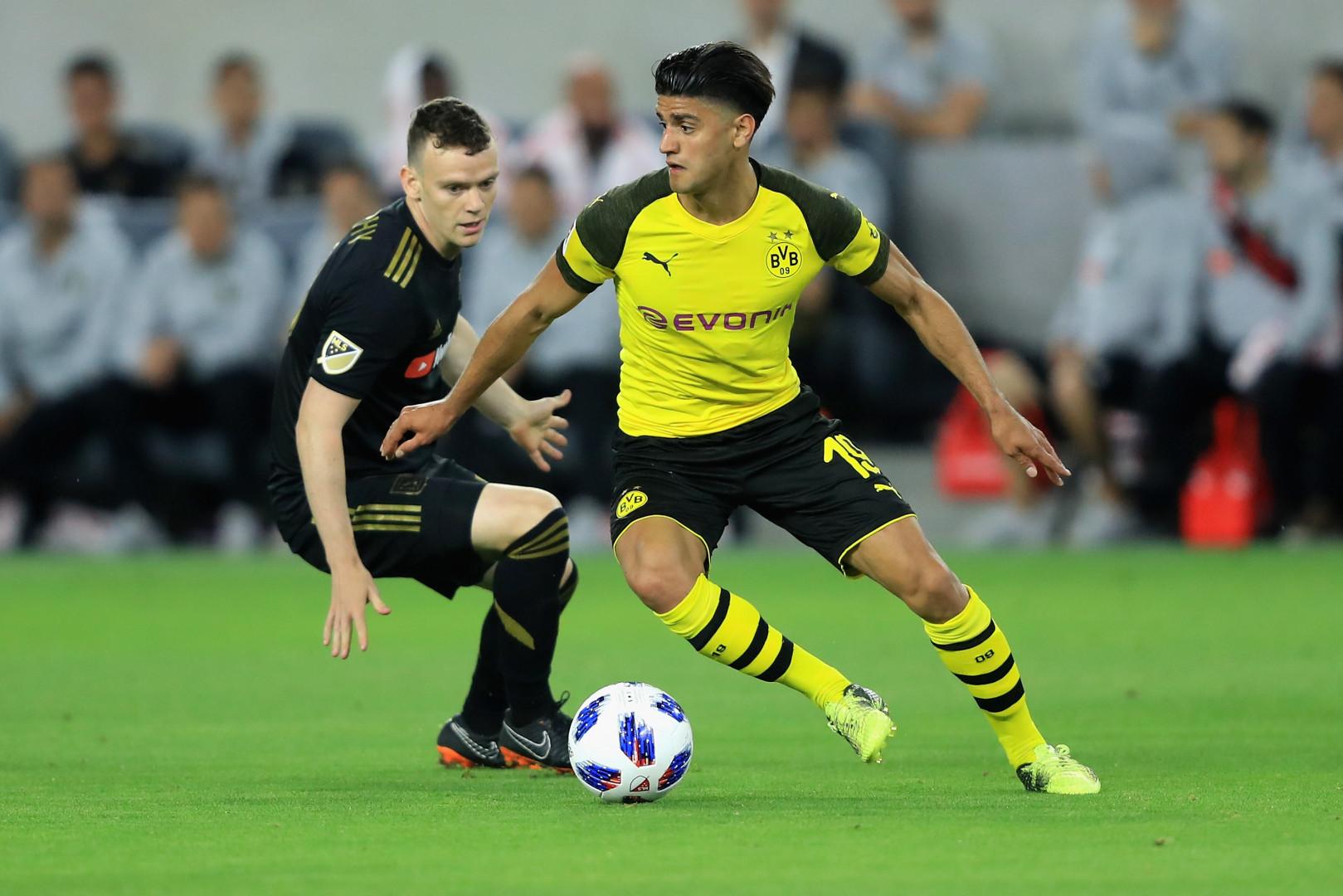 Mahmoud Dahoud (23 ans, Allemagne) avec Dortmund le 20 mai 2018