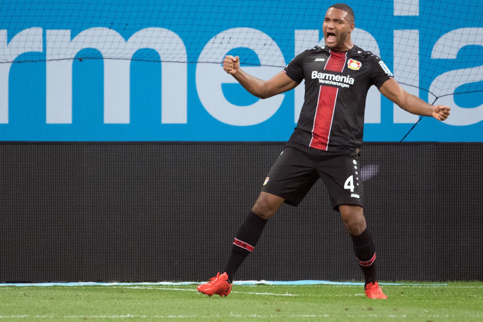 Jonathan Tah (23 ans, Allemagne) avec Leverkusen le 29 septembre 2018
